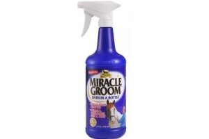 Absorbine Miracle Groom 946ml - Clean, conditions, deodorises, detangles and shines in one application with no need for water.