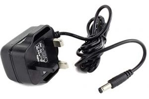 MyVolts 9V DC power cable compatible with Equilibrium Therapy Massage Mitt - UK plug