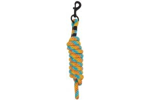 Roma Continental Lead with Chain Blue/Orange/Yellow