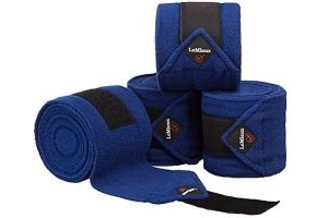 LeMieux Luxury Polo Bandages - Benetton Blue