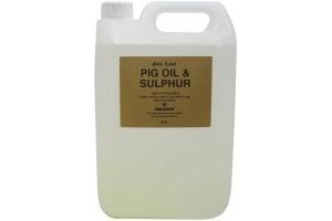Gold Label Pig Oil & Sulphur : 5 Litre