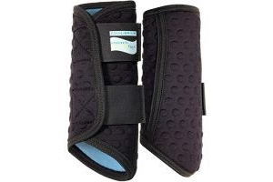 equilibrium Stretch & Flex Flatwork Wraps Black - Easy Stretch Breathable