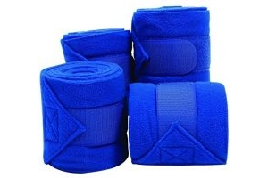 Roma Pack 4 Thick Polo Bandage One Size Bright Blue
