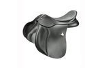 Bates All Purpose Square Cantle Saddle With Cair - Classic Black - 42cm