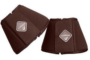 LeMieux Soft Shell Over-Reach Boots - Brown: XXL