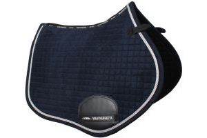 WeatherBeeta Prolux All Purpose Saddle Pad Navy/Silver