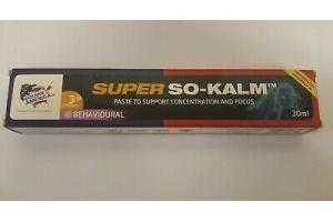 Equine America Super So-Kalm Paste Syringe 30ml - Clearance Offer