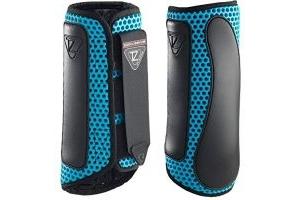 equilibrium Tri-Zone Impact Sports Boot -Azure Blue-Large-Hind