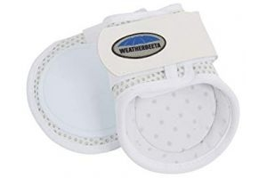 Weatherbeeta Lite Fetlock Boots (Cob) (White)