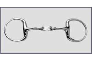 Korsteel French Link Eggbutt Snaffle Bit- 5.5
