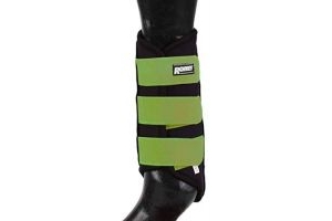 Roma Neoprene Brushing Boots Black/Green Cob