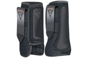 equilibrium Tri-Zone Impact Sports Boot (Large Front, Black)