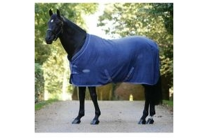 WeatherBeeta Cozi-Dri Standard Neck Cooler Blue/Grey 6ft 6