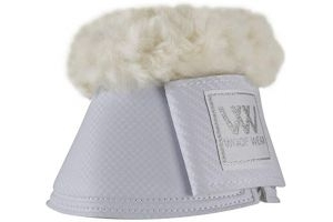Woof Wear Pro Sheepskin Over Reach Boots Large White