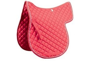 Roma Grand Prix High Wither All Purpose Numnah (Cob) (Pink/White)