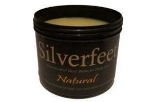 Silverfeet Silver Based Antimicrobial Horse Hoof Balm Natural x Size: 400 Ml