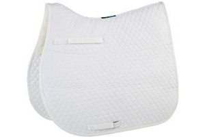 Griffin NuuMed HiWither Half Wool GP Saddle Pad Medium White