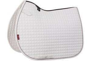 LeMieux ProSport Classic Jump Square Saddle Pad White/Grey