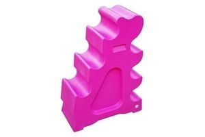 Classic Showjumps Pro-jump Horse Sloping Jump Block Practice Jumping Pink - Pro