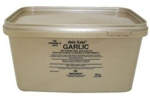 3kg Tub Gold Label Garlic Powder - Pure Natural Garlic Horse Supplement