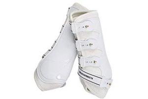 Weatherbeeta Hard Shell Dressage Boots (Full) (White)