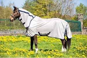 Mio Horseware Horse/Pony Fly Rug in Bronze/Navy 69_5'9