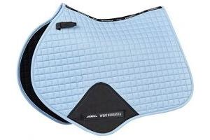 Weatherbeeta Prime Jump Full Size Saddlepad - Range Of Colours: Denim