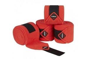 LeMieux Luxury Polo Bandages Pillar Box Red