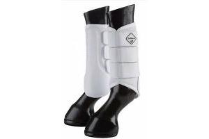 Lemieux Pro Sport Mesh Brushing Boots - White - Small