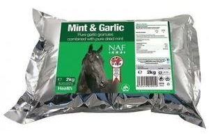 Naf Mint And Garlic Horse Health Feed Supplement 2kg - Refill