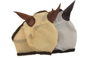Horseware New Amigo FlyMask Größe: WB Farbe: silver-navy