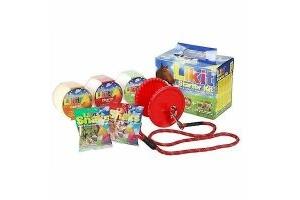 LIKIT Starter Kit for Horses or Ponies Licks, Holder & Treats Red
