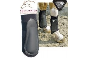 Equilibrium Tri-Zone Brushing Boots - Black, Small by Equilibrium Technologies