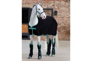 Horseware Amigo Jersey Cooler Black/Teal/Dark Cherry