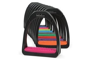 Shires Compositi Premium Profile Stirrups Bright Blue Adult