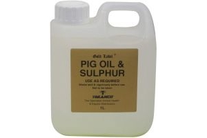 Gold Label Pig Oil & Sulphur 1L