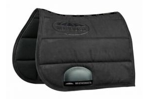 Weatherbeeta Elite Black All Purpose Saddle Pad Size Large RRP £39.99