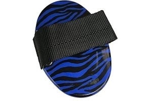 Roma Zebra Curry Comb (One Size) (Blue)