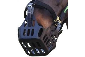Greenguard Grazing Muzzle Black