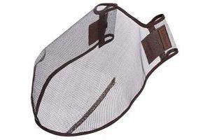 LeMieux Comfort Shield Filter Nose Net - Brown, Large