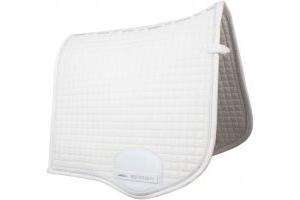 WeatherBeeta Prolux Dressage Saddle Pad White/White