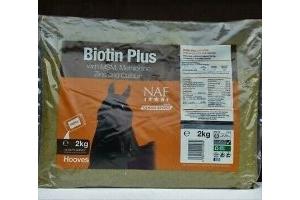NAF Biotin Plus 2kg Refill Healthy Hooves Horse Equine Supplement