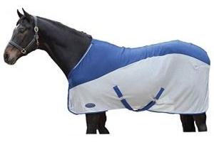 Weatherbeeta Micro-Air Cooler Standard Neck Blue/Grey 5ft 6