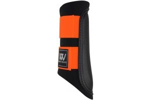 Woof Wear Club Brushing Boots Orange