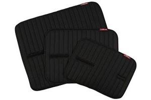 LeMieux Bandage Pads - Black, Large/40 x 50 cm