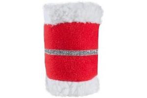 Horze Christmas Leg Bands Red