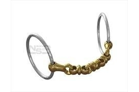 Neue Schule NS Waterford Loose Ring Snaffle 8029 70-5 ¼ 14mm