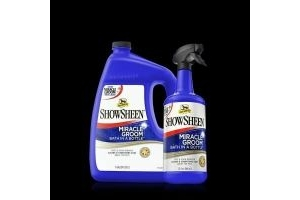 Absorbine Miracle Groom No Water Rinse Wash Stain Remover Spray Horse Dog Pet