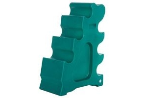 Classic Showjumps Pro-Jump Horse Sloping Jump Block Practice Forest Green