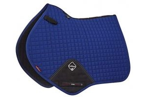 LeMieux Unisex's ProSport Cotton Close Contact Square Saddlepad, Benetton Blue, Large